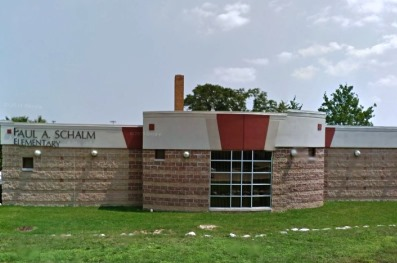 Exterior photo of New Schalm Media Center